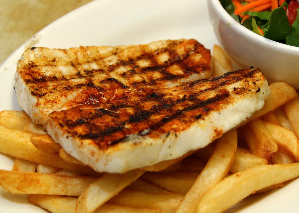 Blue salt fish grill restaurant blue salt fish grill for Fish grill