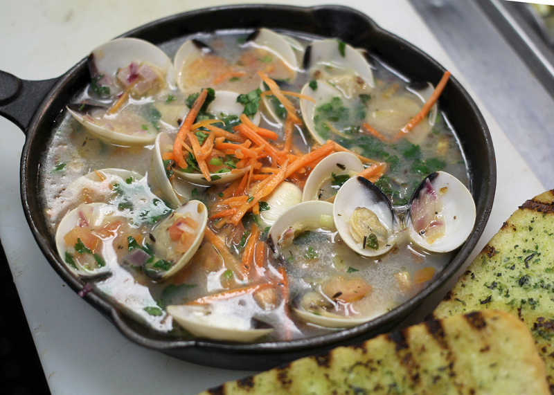 10 95 steamed clams one pound of baby clams